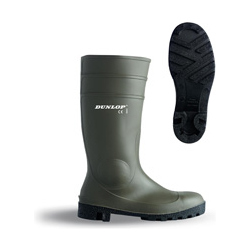 PROTOMASTER FULL SAFETY GREEN WELLINGTONS
