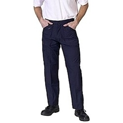 Navy Action Work Trousers