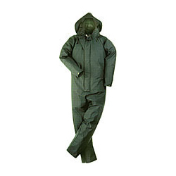 BRECON TRANSFER COATED COVERALL OLIVE