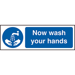 NOW WASH YOUR HANDS SAV (PK5)