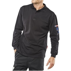 ARC COMPLIANT FLAME RETARDANT POLO NAVY