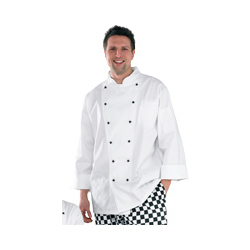 Chefs Jacket Half-Mesh  - Long Sleeve