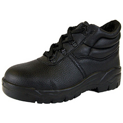 DD S3 CHUKKA M-SOLE BLACK SAFETY BOOTS