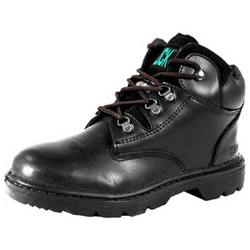 CLICK MID CUT SAFETY BOOTS STEEL MIDSOLE BL