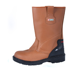 PREMIUM SAFETY RIGGER BOOTS TAN