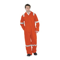 FLAME RETARDANT BOILERSUIT NORDIC DESIGN ORANGE