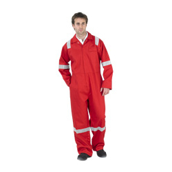 FLAME RETARDANT BOILERSUIT NORDIC DESIGN RED