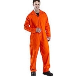 CLICK Flame Retardant Boilersuit-ORANGE