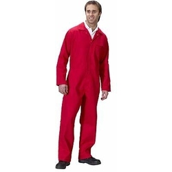 CLICK Flame Retardant Boilersuit-RED