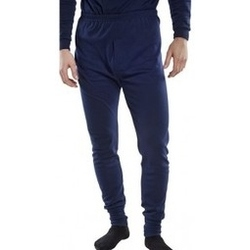 CLICK Flame Retardant Long Johns-NAVY