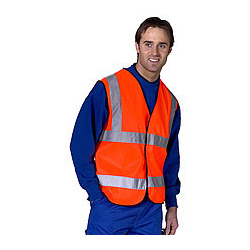 FLAME RETARDANT EN471 VEST APP G ORANGE