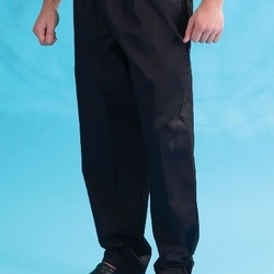Denny's Black Elasticated Trouser