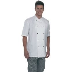 Denny's Lightweight Short Sleeve Chefs Jacket