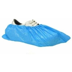 DISPOSABLE OVERSHOE 16'' BLUE (Price per 100)