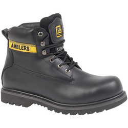 Amblers Steel FS9 Steel Toe Cap Boot - Black