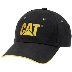 Caterpillar C434 Classic Baseball - Black