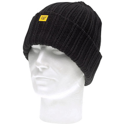 Caterpillar C443 Rib Watch Cap - Black