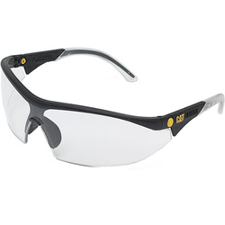 Caterpillar Digger Semi-Rimless Glasses - Clear