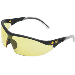 Caterpillar Digger Semi-Rimless Glasses - Yellow