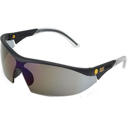 Caterpillar Digger Semi-Rimless Glasses - Smoke