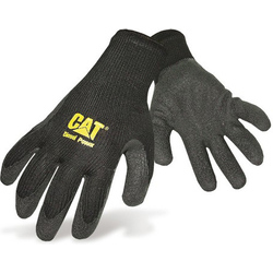 Caterpillar 17400 Latex Palm Gripster Gloves - Black
