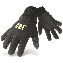 Caterpillar 15400 PVC Micro Dot Palm Gloves - Black