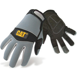 Caterpillar 12213 Neoprene Comfort Fit Gloves - Black/Grey