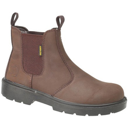 Amblers Safety FS128 SB Safety Dealer Boot - Brown