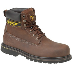 Caterpillar Holton S3 Safety Boot - Brown