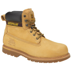Caterpillar Holton S3 Safety Boot - Honey
