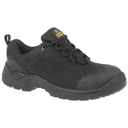 Amblers Steel FS214 Black Safety Trainer