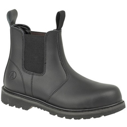 Amblers Steel FS5 Pull-On Dealer Boot - Black