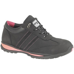 Amblers Steel FS47 S1-P Trainer - Black
