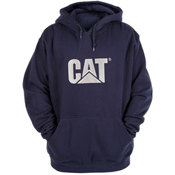 Caterpillar Trademark Hooded Sweatshirt - BLACK