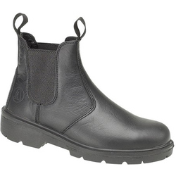 Amblers Steel FS116 Pull-On Dealer Boot - Black