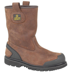 Amblers Safety FS223 S3 Safety Rigger Boot - Brown