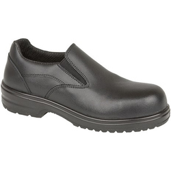 Amblers Safety FS94C S1 Ladies Slip On Safety Shoe - Black