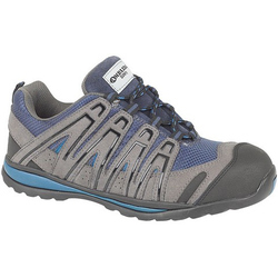 Amblers Safety FS34C S1P Safety Trainer - Grey and Blue