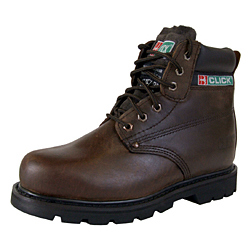 GOODYEAR WELT SAFETY BOOTS BROWN