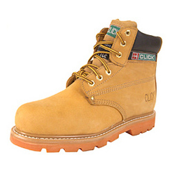 GOODYEAR WELT SAFETY BOOTS NUBUCK