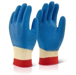 KEVLAR LATEX GLOVES FULLY COATED