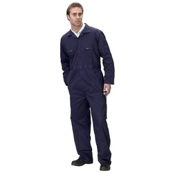Zipped Poly Cotton Boilersuit