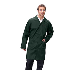 CLICK POLYCOTTON WAREHOUSE COAT SPRUCE