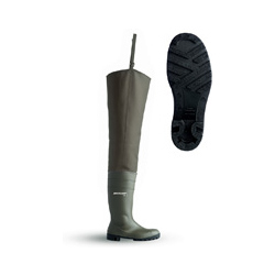 THIGH WADER FULL SAFETY GREEN