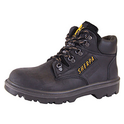 SHERPA CHUKKA SAFETY BOOTS BLACK