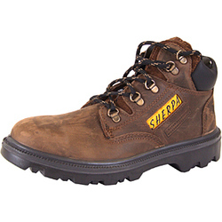 SHERPA CHUKKA SAFETY BOOTS BROWN