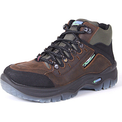 TRAXION SAFETY BOOTS BROWN