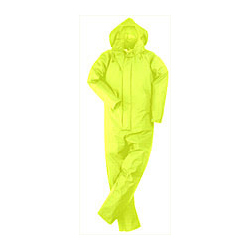 TRANSFER COATED COVERALL SATURN YELLOW