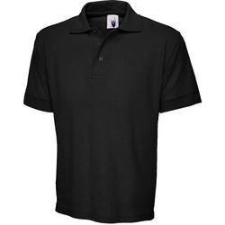 Uneek Premium Polo Shirt BLACK