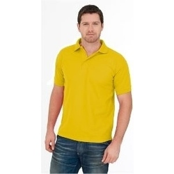 Uneek Premium Polo Shirt YELLOW